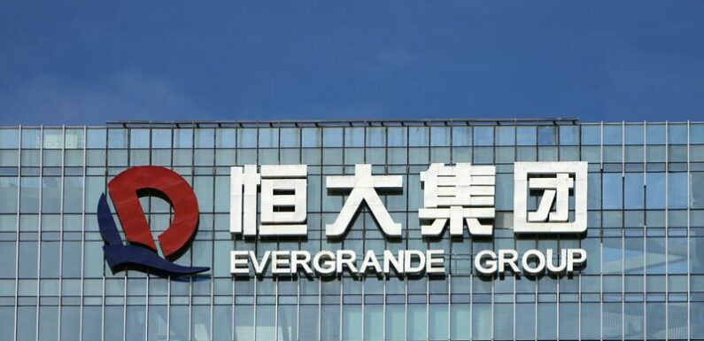 China Evergrande's electric car unit's shares tumble 26% after warning