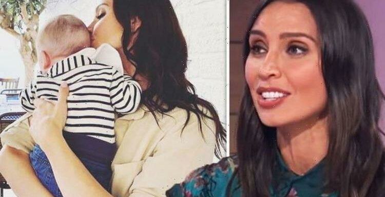 Christine Lampard admits feeling 'isolated' after welcoming son with husband Frank Lampard
