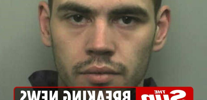 Cops release urgent warning as they hunt 'high risk' rapist, 37, with 'gun' tattoo on his back