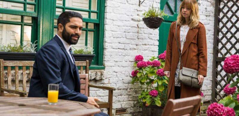 Coronation Street's Toyah Battersby becomes suspicious over Imran Habeeb's disturbing behaviour