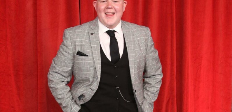 Corrie's Colson Smith talks 'battle' with self-image and 10st weight loss