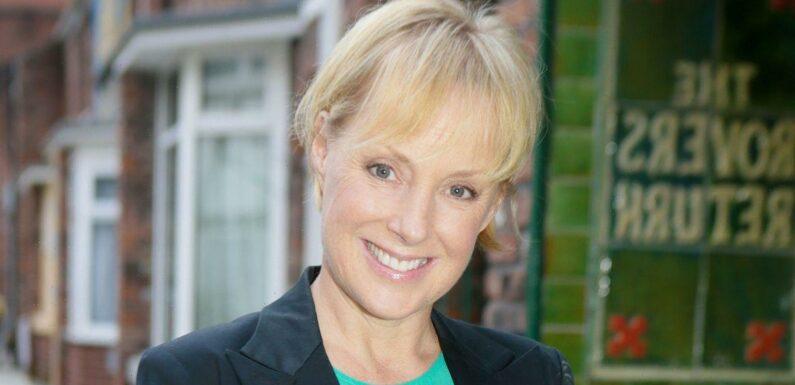 Corrie's Sally Dynevor already training for Dancing On Ice amid line-up rumour
