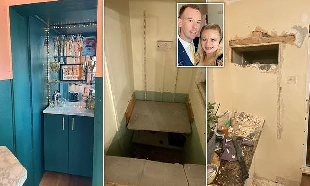 Couple find a hidden room in their house – and create a £45 bar