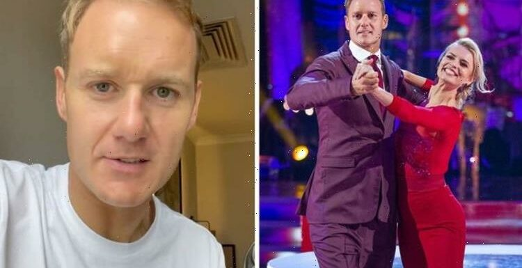 Dan Walker admits he's 'struggling' with Strictly this week as BBC co-star reaches out