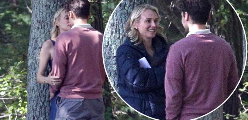 Diane Kruger, Ray Nicholson kiss on the set of new thriller, Out of the Blue