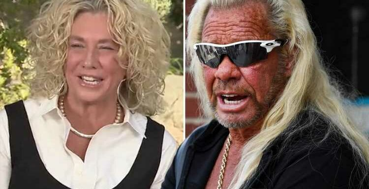 Dog the Bounty Hunter's wedding 'sabotaged by anonymous threats to throw paint on his bride Francie Frane's dress'