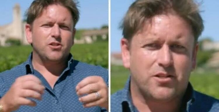 Dont leave James Martin shouts at cameraman during cooking segment