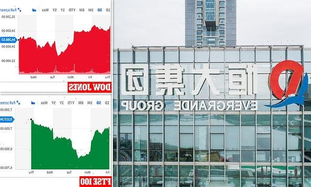 Fears Chinese real estate giant Evergrande will MISS debt deadline