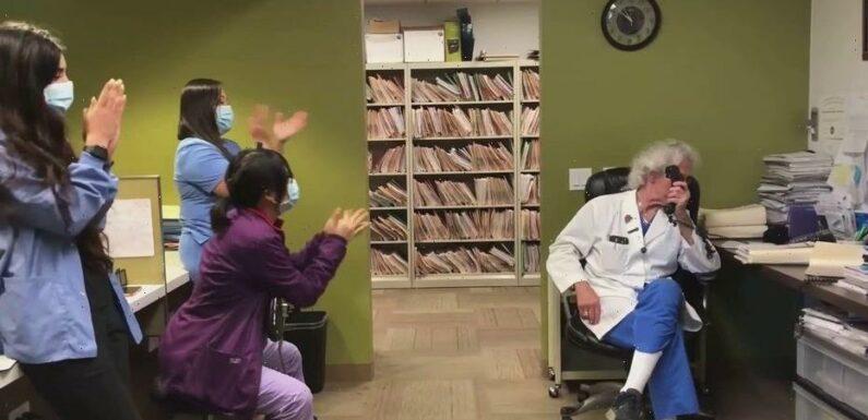 Fertility doctor's unique way of announcing pregnancies warms hearts