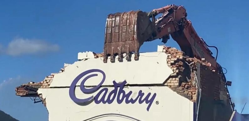 Final bite: End of the line for Cadbury chocolate factory