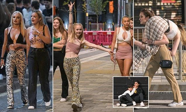 Freshers' Week carnage across Leeds and Birmingham