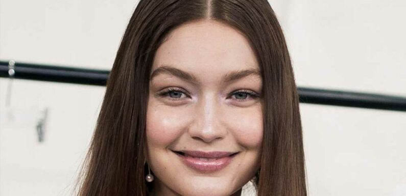Gigi Hadid's Extreme Crop Top Featured Side-Boob Cutouts