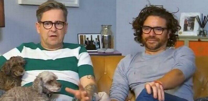 Gogglebox fans emotional as Stephen Webb shares loved-up snap with Daniel Lustig
