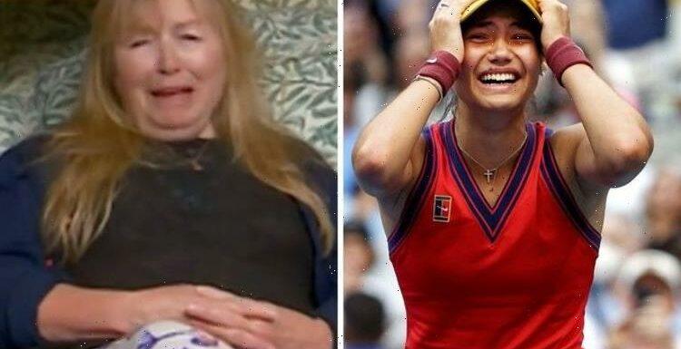 Gogglebox star breaks down in tears over Raducanu's historic win 'Steady'