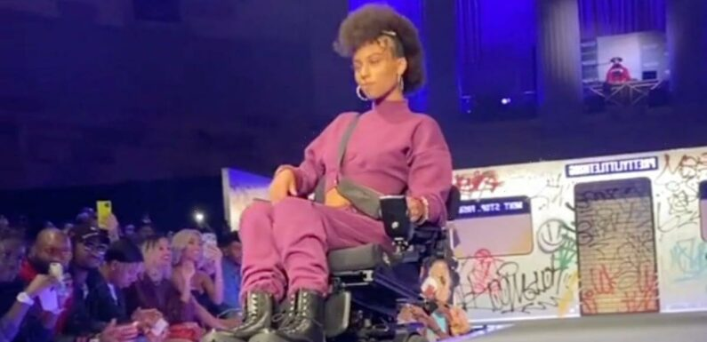 """How NYFW Was Like """"Rolling Into a World"""" This Disabled TikToker Never Truly Imagined"""