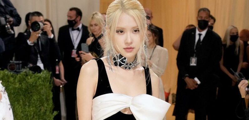 If Rosé's Met Gala Dress Looks Familiar, It's Because Another Icon Just Wore It