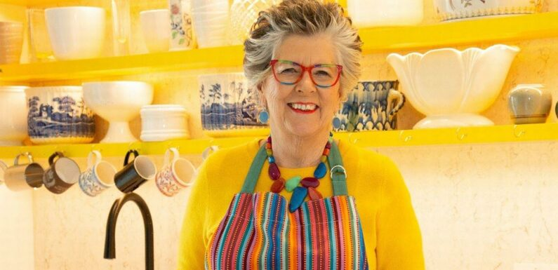 Inside Great British Bake Off star Prue Leith's brightly coloured new home