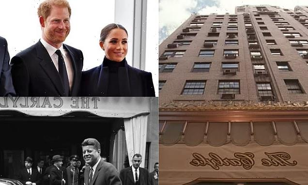 Inside Prince Harry and Meghan Markle's $1,300-a-night Carlyle Hotel