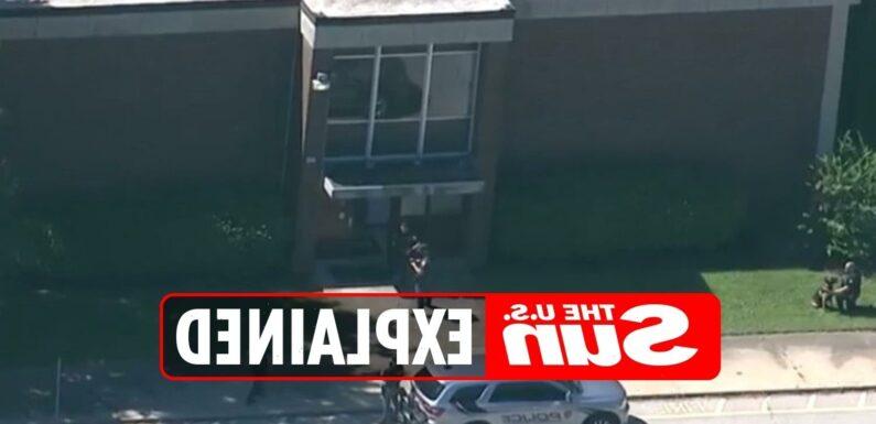 Is Jeffersontown High School in Kentucky on lockdown?