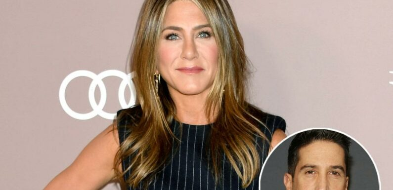 Jennifer Aniston Shares Hilarious Texts She Received About David Schwimmer Dating Rumors