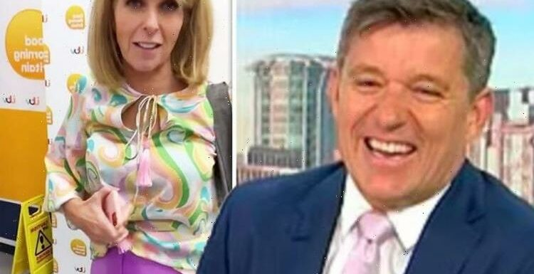 Kate Garraway mocked by Ben Shephard as she suffers outfit mishap: I had an accident!'