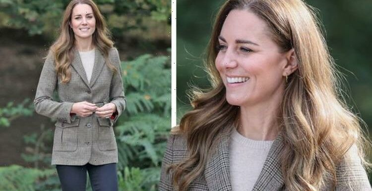 Kate Middleton 'in her element' wearing £395 jacket for outdoor pursuits in Cumbria