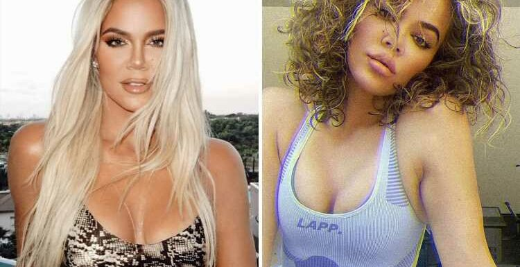 Khloe Kardashian reveals her hair fell out in Covid battle after sharing rare pic of her REAL locks without extensions