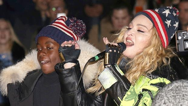 Madonna Snuggles Up To Son David Banda In Sweet Snaps From His 16th Birthday Party