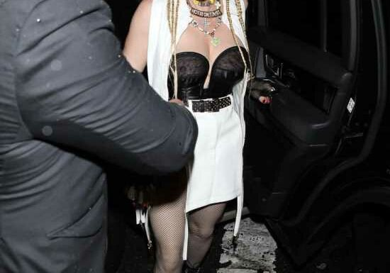 Madonna wore a tragic ensemble for her Times Square screening of 'Madame X'