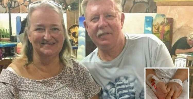 Married couple die from Covid a minute apart while holding hands despite both being double jabbed