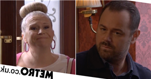 Mick and Linda exit EastEnders after Stuart threatens to destroy them