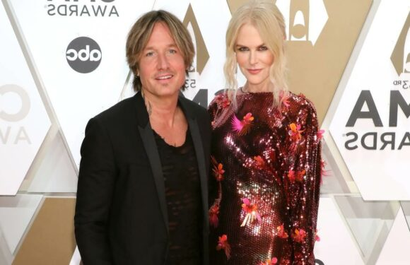 Nicole Kidman supports Keith Urban in a sleek suit you can't miss