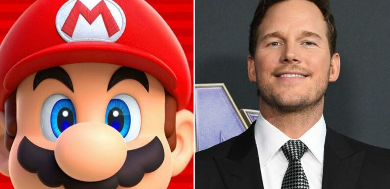 Nintendo fans outraged after Chris Pratt cast as Mario in star-studded new film