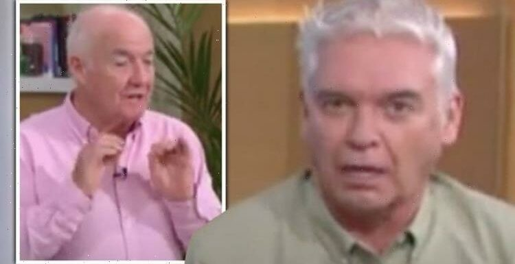 Phillip Schofield pulls face at Rick Stein over fish pie ingredient 'I'm picking it out!'
