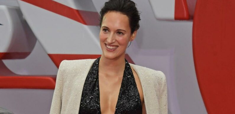 Phoebe Waller-Bridge Has Been Spotted Looking Damn Good in a Shimmery Black Jumpsuit