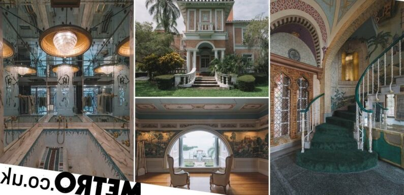 Photographer shares pictures of sprawling neglected 'Kellogg's mansion'