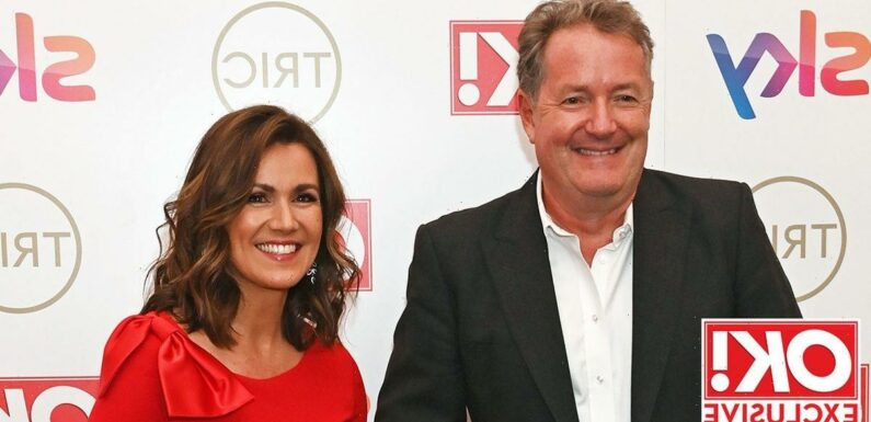 Piers Morgan asks Susanna Reid How is the hunt for the new me? as GMB stars reunite