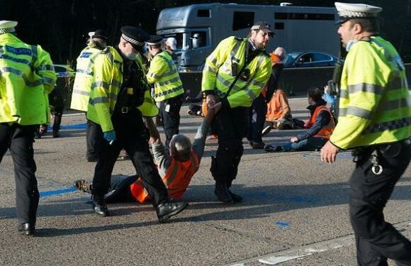 Police's appeasement of M25 mob is an embarrassment, PHILIP FLOWER