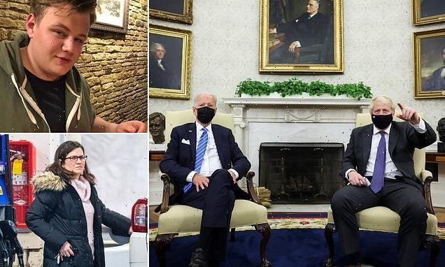 President Biden says Harry Dunn death criminal case 'being worked on'