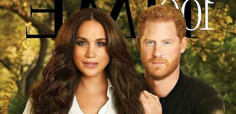 Prince Harry and Meghan Markle Among TIMEs Most Influential People of 2021