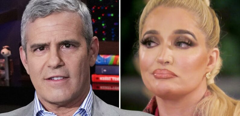 RHOBH's Erika Jayne & Bravo boss Andy Cohen were 'FIGHTING' at reunion taping after fans slammed star over fraud claims