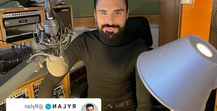 Rylan Clark-Neal posts cryptic tweet as he returns to social media after five months