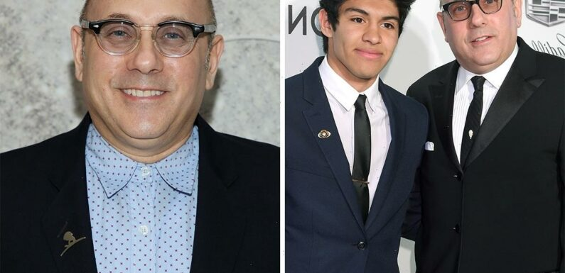 SATC's Willie Garson joked adopted son Nathen, 20, would 'soon be taking care of him' one year before his death at 57