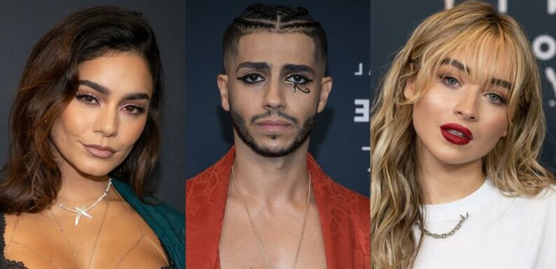 Sabrina Carpenter, Mena Massoud & Vanessa Hudgens Step Out For 'Savage x Fenty Vol 3′