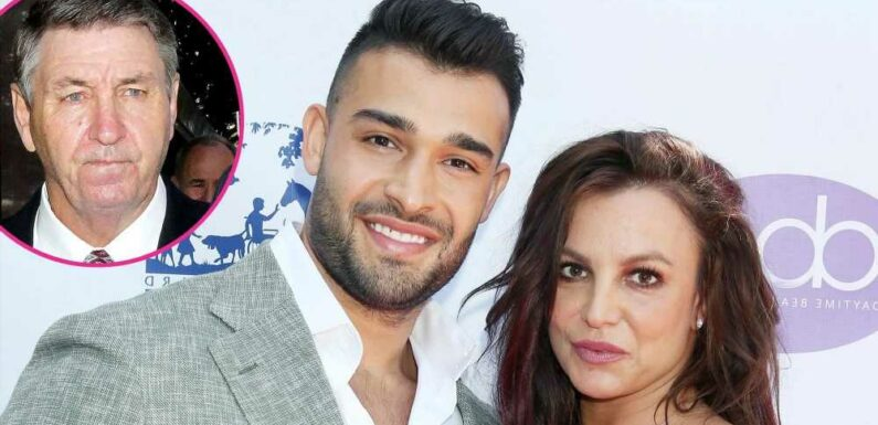 Sam Asghari Reacts to Jamie Spears Being Removed as Britney's Conservator