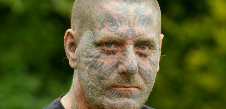 Sexual abuse survivor shares traumatic story behind his face scars and tattoos
