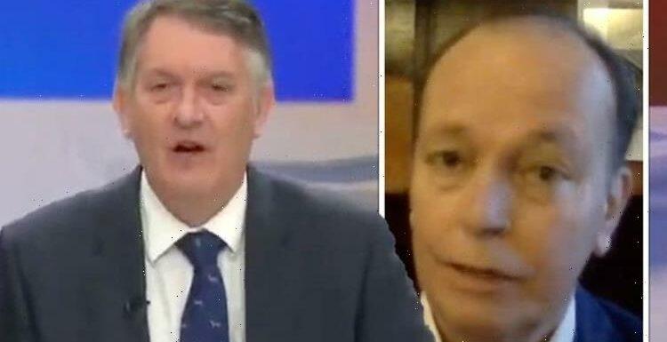 Simon McCoy hits out as guest blames Boris for fuel crisis 'Not the Government's fault!
