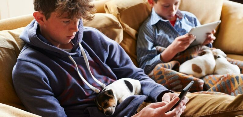 Spending time in front of screens could help kids make friends, claims study