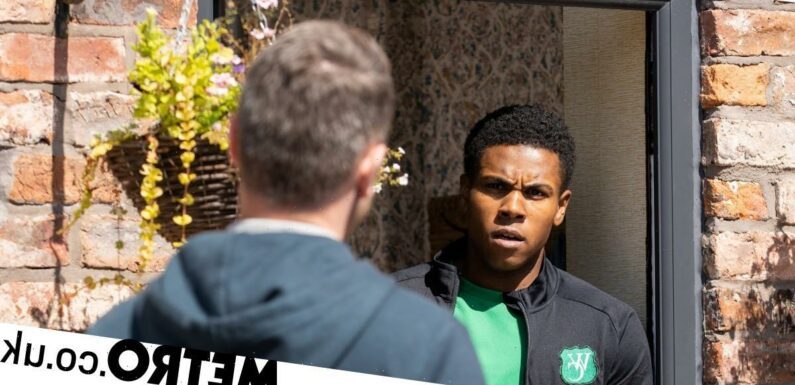 Spoilers: James confronts PC Brody over police racist profiling in Corrie