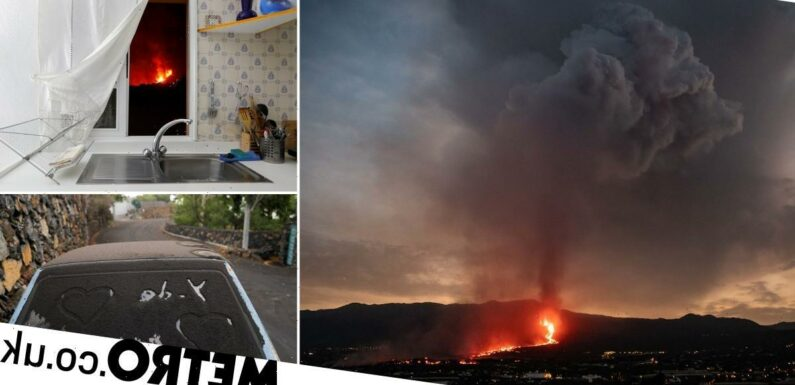 Stricken La Parma residents see rivers of lava from the kitchen window